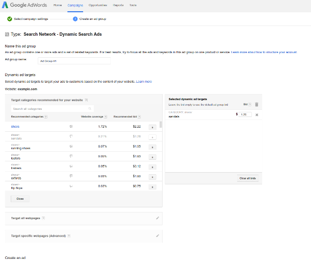 Google-Auto-Bid-Recommendations-Dynamic-Search-Ads 1